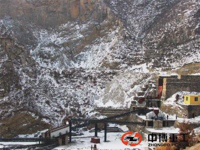 河北石料生产线安装过程
